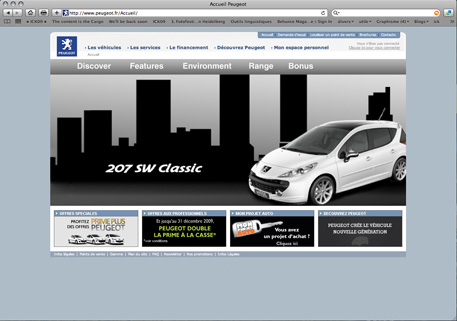 home page 207sw classic