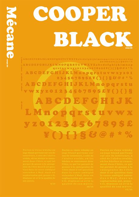projet print   carnet de typographie